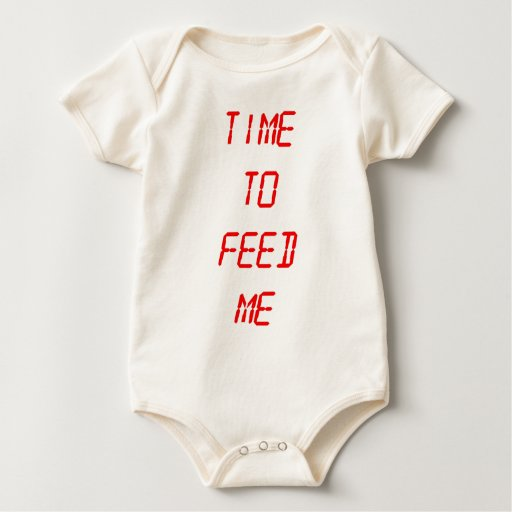 Time To Feed Me Baby Bodysuit
