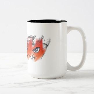 Time to Fire a Few People giant coffee mug! Two-Tone Coffee Mug