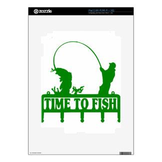 Time To Fish iPad 2 Skin