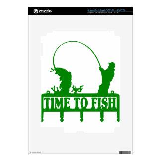 Time To Fish iPad 3 Skin