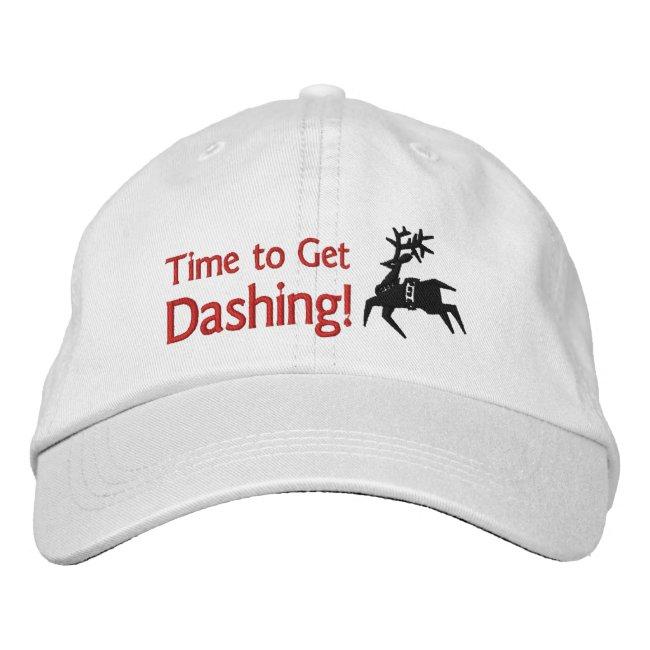 Time to Get Dashing Reindeer Icon / Emoji Runner's
