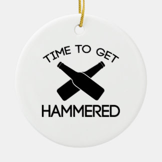 Time To Get Hammered Ornament