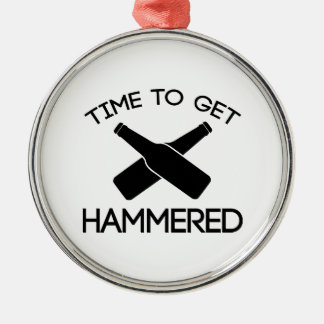 Time To Get Hammered Christmas Tree Ornament