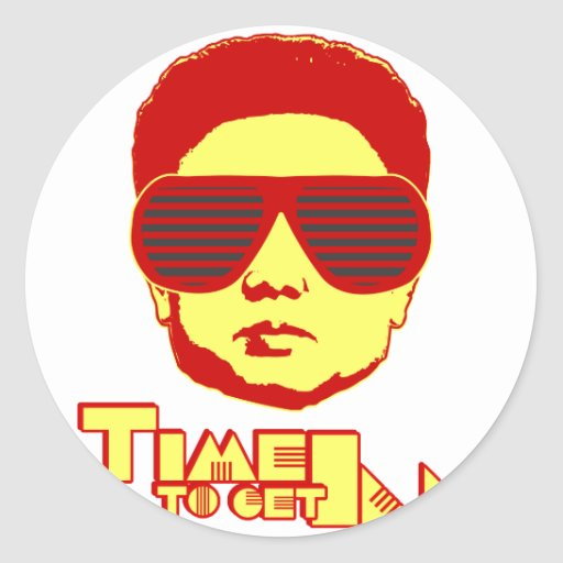 Time To Get Ill Classic Round Sticker