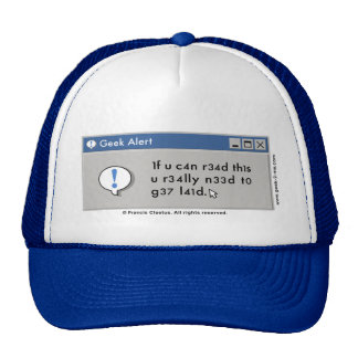 Time to get Laid hat! Trucker Hat