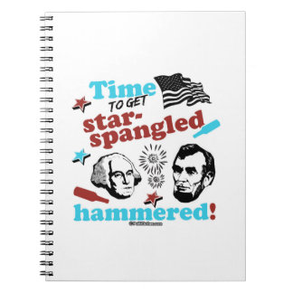 Time to get Star-Spangled Hammered Notebooks