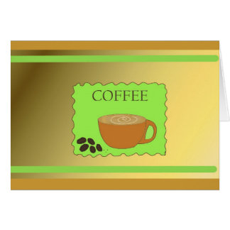 Time to Get Together for Coffee Card