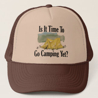 Time To Go Camping Hat