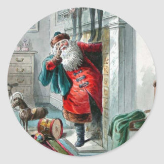 Time To Go - Christmas Sticker