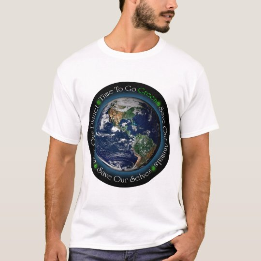 Time To Go Green T-Shirt