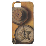 Time to Go Steampunk Clock on Victorian Bicycle iPhone 5 Case