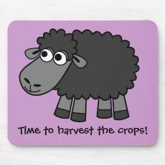 Time to harvest the crops! (Virtual Farming) Mouse Pad