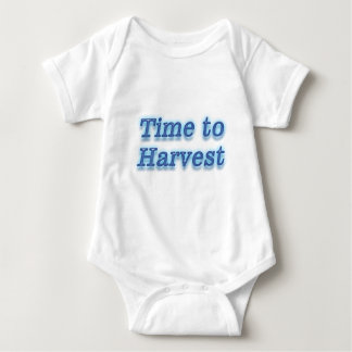 Time to harvest V2 Baby Bodysuit