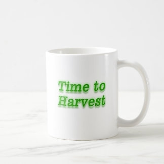 Time to harvest V3 Coffee Mug