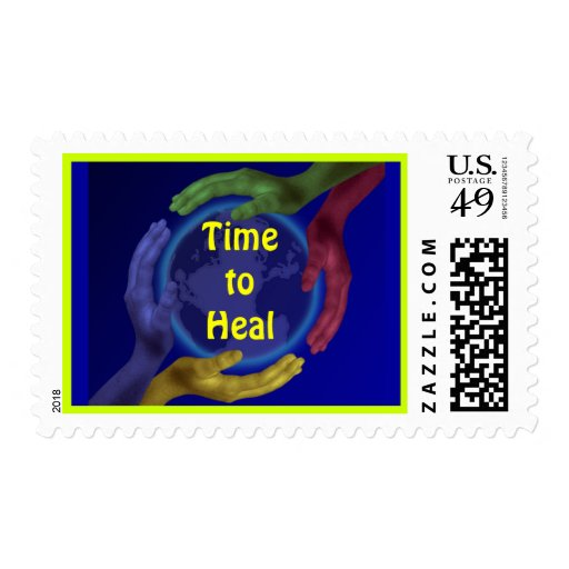 Time to Heal postage stamp