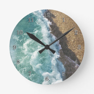 Time to Hit the Beach Wall Clocks