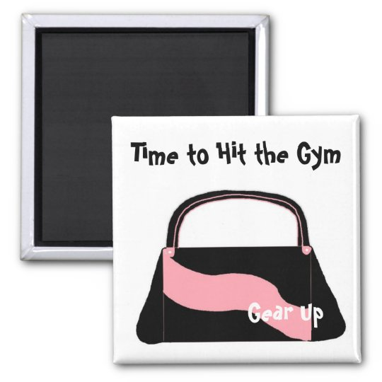Time to Hit the Gym Magnet