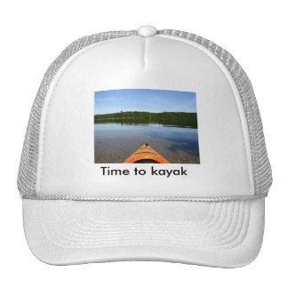 Time to kayak hat