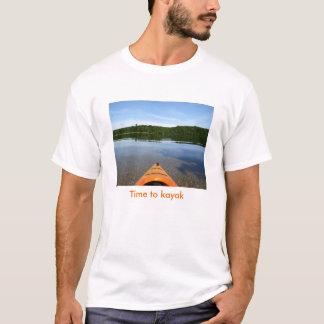 Time to kayak T shirt