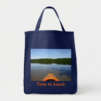 Time to Kayak Tote Bag