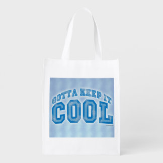 Time to Keep It Cool Grocery Bag