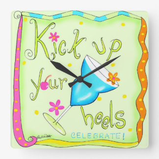 Time to Kick Up Your Heels with this Clock