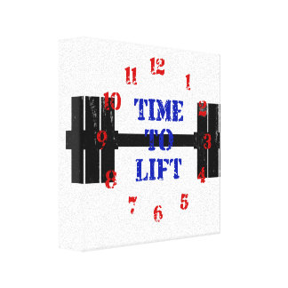 Time To Lift Canvas Print