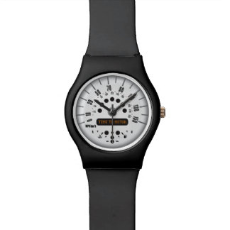 Time To Motor Mini Cooper Watch! Wrist Watch