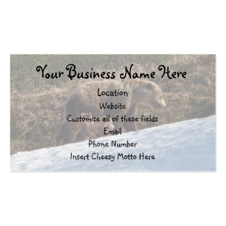 Time to Move On Double-Sided Standard Business Cards (Pack Of 100)