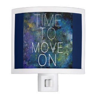 Time to move on - cosmic, night sky with stars night light