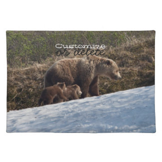 Time To Move On; Customizable Cloth Place Mat