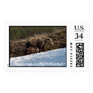 Time To Move On; Customizable Postage