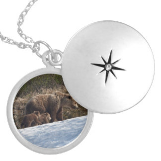 Time to Move On Round Locket Necklace