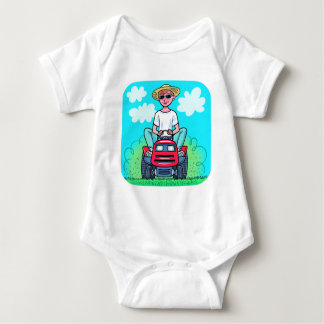 TIme to Mow Baby Bodysuit