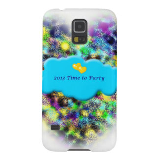 Time to Party 2013 New Years art gifts Case For Galaxy S5