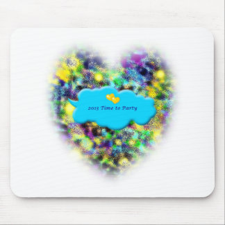Time to Party 2013 New Years art gifts Mouse Pads