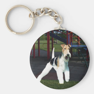 Time to Play! Keychain