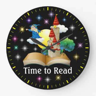Time To Read - Literacy Wall Clock - SRF