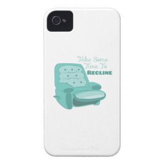 Time To Recline Case-Mate iPhone 4 Cases