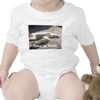 Time to Relax Baby Bodysuits