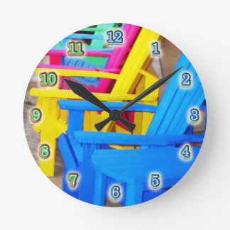 Time to Relax Round Wall Clocks