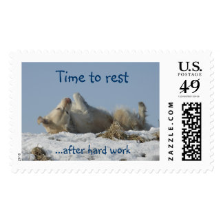 Time to rest - Postage