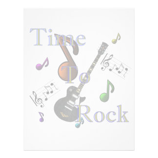 Time To Rock Letterhead