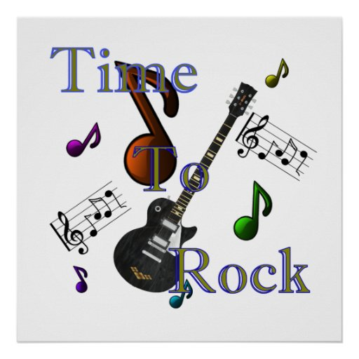 Time To Rock Poster