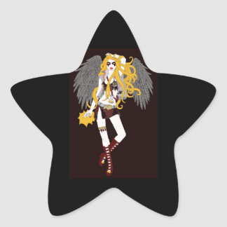Time To Rock Star Stickers