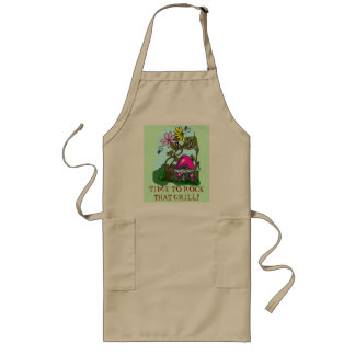 TIME TO ROCK THAT GRILL! LONG APRON