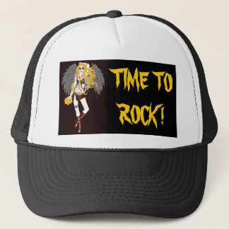 Time To Rock Trucker Hat