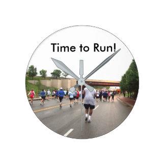 Time to Run! Clock