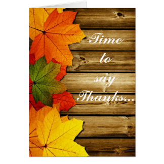 time to say thanks-1 card