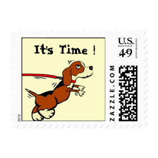 Time to see the Vet Reminder Postage Stamp